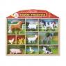Figurki zwierząt - farma