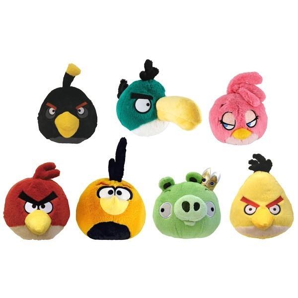EPEE Angry Birds plusz dźwięk.13 cm,7 wz