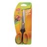 Nożyczki szkolne z miękkimi rączkami 15 cm pomarańczowe (835894)
