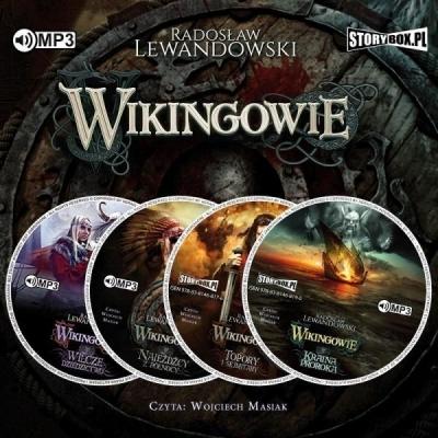 Pakiet: Wikingowie T.1-4 (Audiobook) Radosław Lewandowski