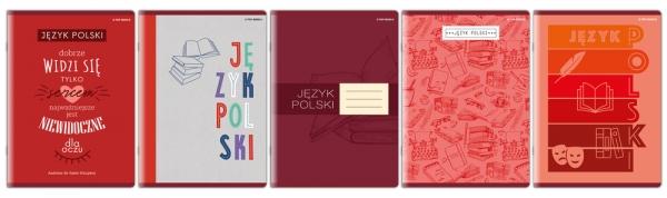 Zeszyt Top 2000 A5/60k, linia z marginesem - Polski (400152051)