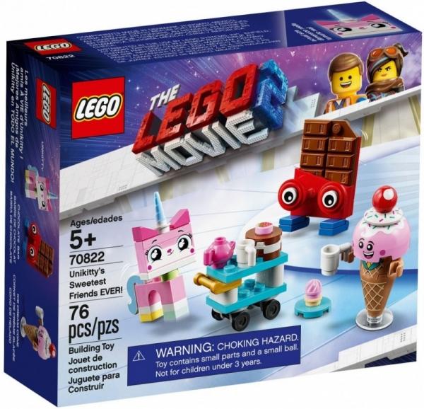 Lego Movie: Najlepsi przyjaciele Kici Rożek (70822)