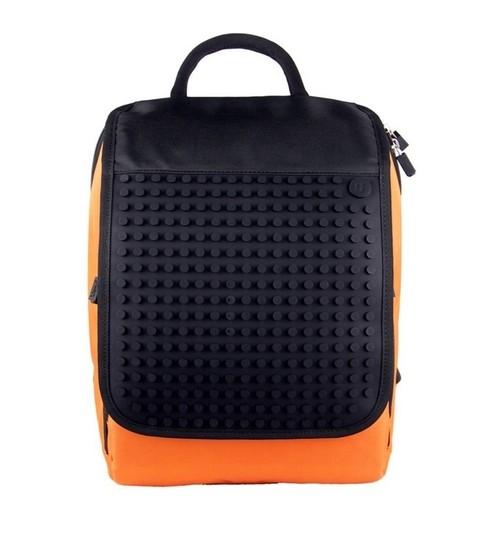Plecak młodzieżowy Pixelbags pomarańczowy