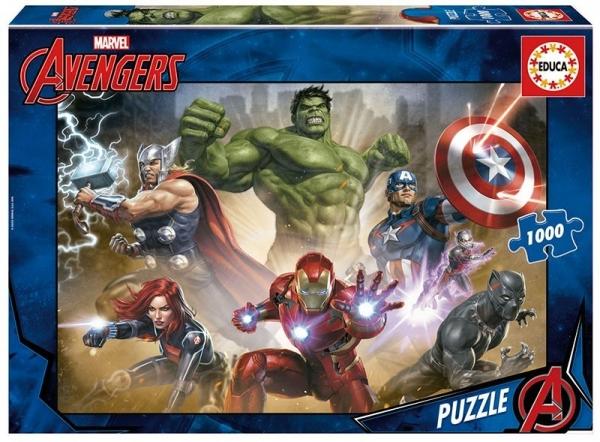 Puzzle 1000 elementów Avengers (17694)
