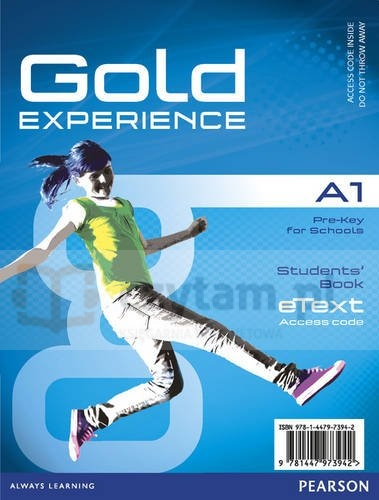 Gold Experience A1 eText SB AccessCodeCard