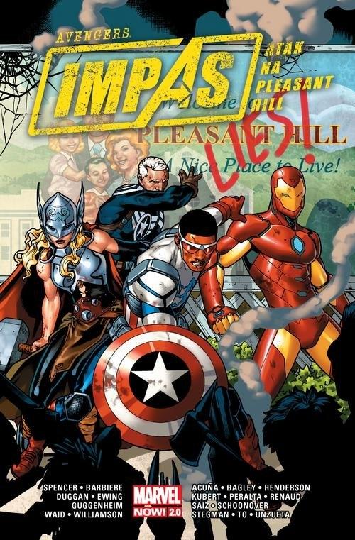 Avengers Impas Atak na Pleasant Hill Spencer Nick, Barbiere Frank