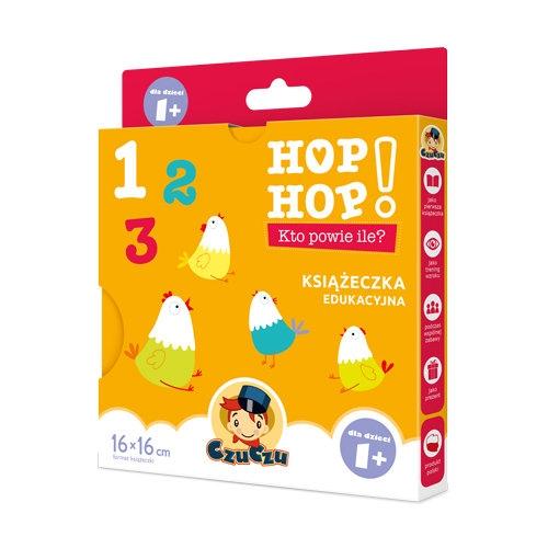 CzuCzu Hop, hop! Kto powie ile? 1+ (CZU039942) Praca zbiorowa