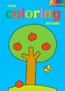 Viva coloring parade blok kolorowanek