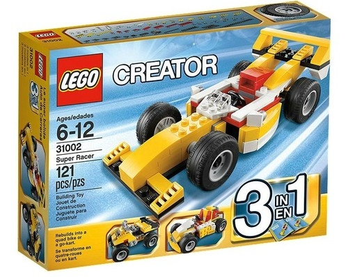 Lego Creator: Samochód wyścigowy (31002)