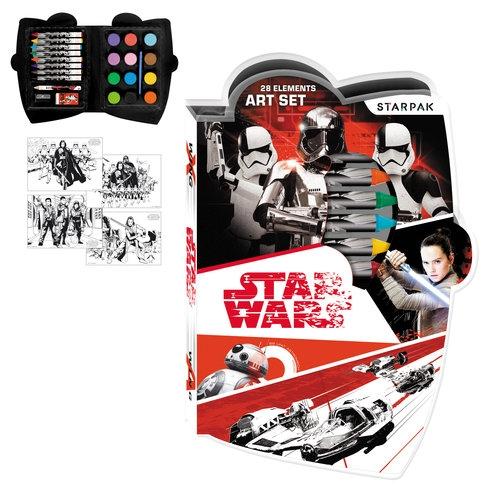 Zestaw artystyczny 28 elementów STAR WARS