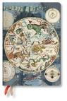 Kalendarz 2020 książkowy Midi Horizontal Celestial Planisphere 12m