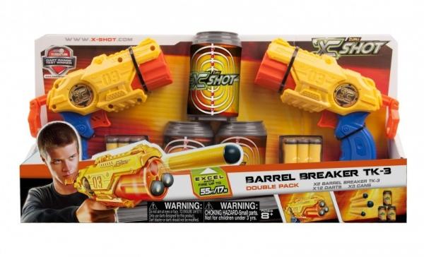 X-SHOT Podwójny Micro 3-strzałowy (XSH36120)