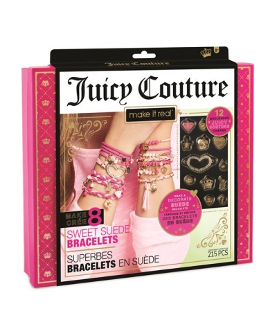 Make it Real Zestaw do tworzenia bransoletek Juicy Couture Sweet Suede