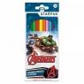 Kredki ołówkowe 12 kolorów Avengers