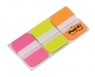 Zakładki indeksujące POST-IT do archiwizacji (686-PGOEU), PP, silne, 38x25mm, 3x22 kart., mix kolor