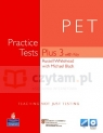 PET Practice Tests Plus 3 +Multi-ROM +key