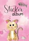 Album na naklejki - kot (57794)