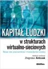 Kapitał ludzki w strukturach wirtualno-sieciowych Nowe role pracowników i menedżerów wiedzy