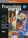 Francofolie express 3 Podręcznik + CDSzkoła ponadgimnazjalna Supryn-Klepcarz Magdalena, Boutegege Regine