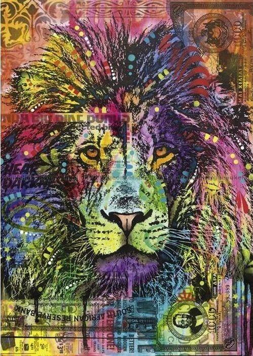 Puzzle 2000 elelementów Serce lwa (29894)
