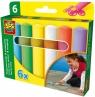 Kreda kolorowa do chodników - 6 kolorów