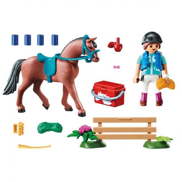 Playmobil Country: Zestaw upominkowy - Stadnina koni (70294)