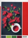 Puzzle 1000: Pantone Red Hibiscus Aroma