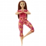 Barbie: Made to Move - lalka w czerwonym ubranku (FTG80/GXF07)