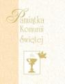 Pamiątka Komunii Świętej (żółta, mały format)