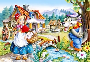 Puzzle 260 Little Red Riding Hood (26944) .