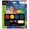 Farbki do malowania twarzy, 6 kolorów (DRF-68944)