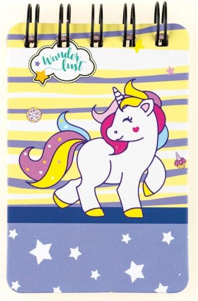 Notes na spirali Unicorn 55K