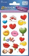 Naklejki kreatywne - Miłość (56094)