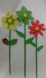 Wiatrak drewniany kwiatek