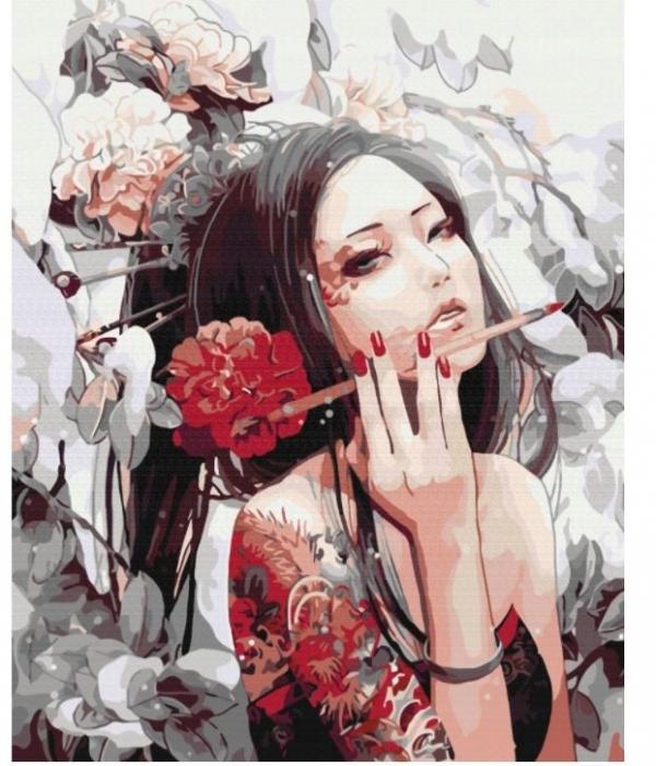 Obraz Malowanie po numerach - Tatuaż (BS269)