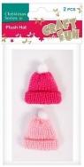 Ozdoba dekoracyjna czapeczka 2el