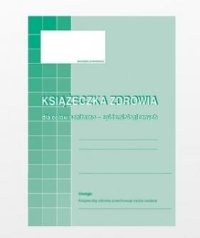 Książeczka zdrowia dla celów sanitarno-epidemiologicznych TYP: 530-5