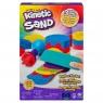 Kinetic Sand: Piasek kinetyczny - Zestaw tęczowych narzędzi + piasek 386g (6053691)