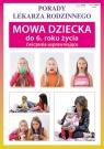 Mowa dziecka do 6. roku życia Ćwiczenia usprawniające