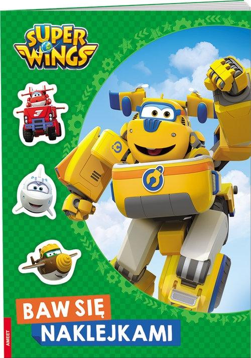 Super Wings Baw się naklejkami