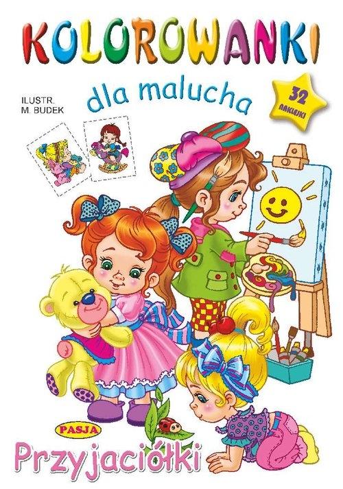 Kolorowanki dla malucha Przyjaciółki Budek Mariola