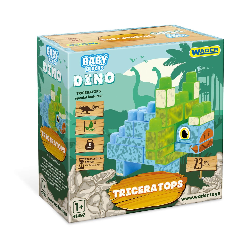 Baby Blocks Dino - klocki triceratops (41494)