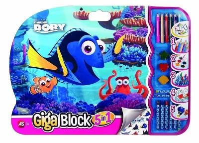 Giga Block - Zestaw dla artysty 5w1 - Dory