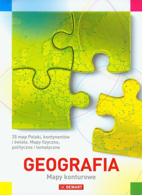 Geografia Mapy konturowe Praca zbiorowa