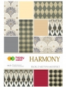 Blok z motywami Effect Harmony - 10 arkuszy Happy Color (2029-HA)