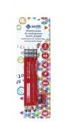 Ołówek do nauki pisania Zenith Simple 3 sztuki + temperówka