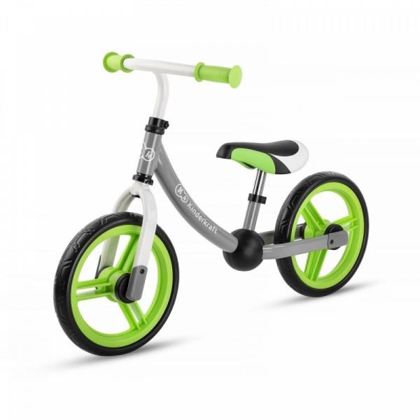 Rowerek biegowy 2way next zielony bez akcesoriów (KKR2WNXGRE0000)