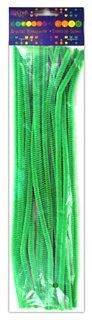 Druciki kreatywne 30 cm ciemno-zielone 25 sztuk