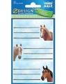 Naklejki na zeszyty Konie