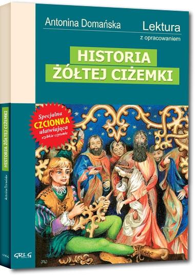 Historia żółtej ciżemki Antonina Domańska